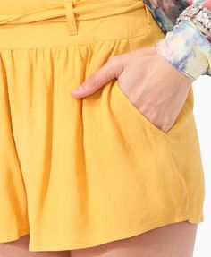 Textured Swing Shorts | FOREVER21 - 2000045971