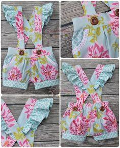 Fiona Suspender Shorts Pattern | Craftsy