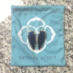 Kendra Scott iridescent skylars Bought from another wonderful seller, but then I found iridescent alexandras! So no need for two. Hoping to trade for a pair of Danielle's! Kendra Scott Jewelry Earrings