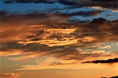 Clouds at sunset, Granada, Andalucia, Spain
