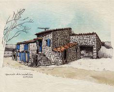 La Loubatière (crayon et digital) ©Antoine Digout