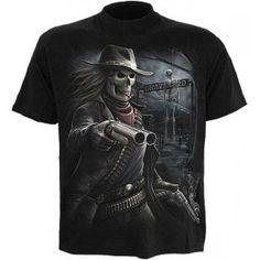 Spiral Gunslinger Men's Longsleeve T-Shirt Motorcycle Jacket, T Shirt, Leather Jacket, Long Sleeve, Mens Tops, Jackets, Art Work, Spiral, Fashion