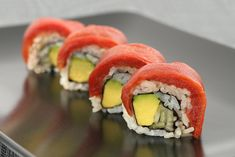 Image result for tomato sushi