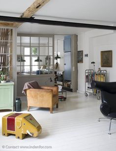 Méchant Design: i am in love with a house in Copenhagen Home Design Decor, House Design, Interior Design, Home Decor, Rustic Interiors, Living Room Interior, White Walls, Decoration, My Dream Home