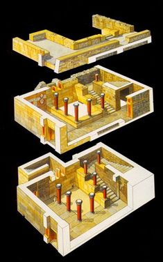 The Stream of Time: The Minoans: The Labyrinth Ancient Egyptian Art, Ancient Aliens, Ancient Greece, Ancient History, Knossos Palace, Bronze Age Civilization, Minoan Art, European History, Greek History