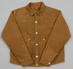 "LEVI'S VINTAGE CLOTHING - 1878 Triple Pleated ""Blouse"" Jacket, Duck Canvas"