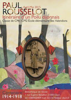 Paul Rousselot - Itinéraire d'un Poilu dijonnais