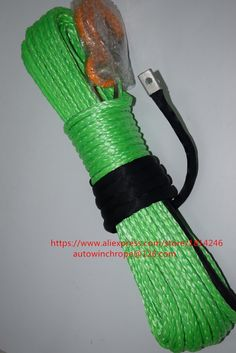 """91.00$  Watch here - http://ali35t.worldwells.pw/go.php?t=32768850980 - """" Free Shipping 5/16""""""""*100ft  Green Synthetic Winch Rope,ATV Winch Cable for 4wd Parts, Boat Winch Rope,ATV Winch Realy"""""""