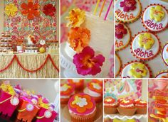 party cupcakes | Kids Party Hub: Summer Party Themes and Ideas for Girls