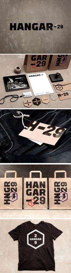 #identity #packaging #branding hangar 29 PD