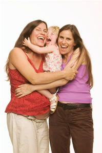 When Mother's Day comes around, lesbian mothers enjoy sharing time with their children, friends, and family. As part of the lesbian, gay, bisexual, and transgender community (LGBT), lesbian moms represent a special group of parents.