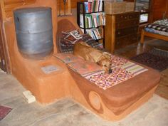 Best Rocket Stove with Thermal Mass Heated Lounge - This is the design I will use in on of the rooms of our cob house