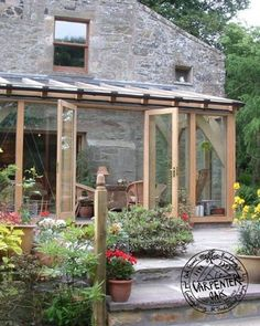 Glazed Green Oak Conservatory Extension in Fife, Scotland