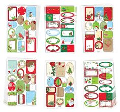 Holiday Gift Supplies Over 450 Christmas Holiday Gift Labels Self Adhesive, Mark To and From on All Your Gifts > Check out this great image  : Christmas Gifts