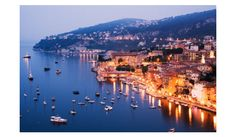 Cote d'Azur / French Riviera - so beautiful at night!