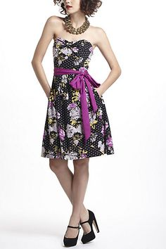 Repartee Sweetheart Dress #anthropologie