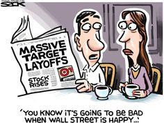 Sack cartoon: Target   Star Tribune