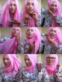 Tucked and Neat Hijab