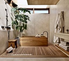 Home Interior Boho @ Former Beach Motel in Malibu Is Reborn as the Japanese-Inspired Nobu Ryokan Japanese Style Bathroom, Japanese Home Decor, Japanese House, Japanese Bedroom Decor, Modern Japanese Interior, Japan Bedroom, Japanese Inspired Bedroom, Japanese Decoration, Japanese Home Design