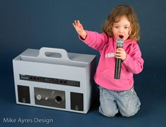 Mike Ayres Design portable voice distortion unit with radio remote microphone. Sensory Rooms, Sensory Play, Sensory Equipment, Distortion, The Voice, Kids Room, The Unit, Design, Room Kids