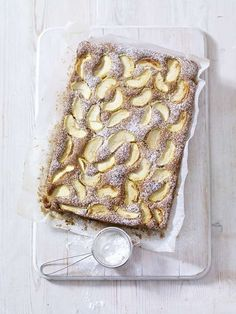 Spiced Dorset Apple Traybake
