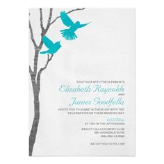 Discount DealsVintage Blue Birds Wedding Invitations Custom InvitationThis site is will advise you where to buy