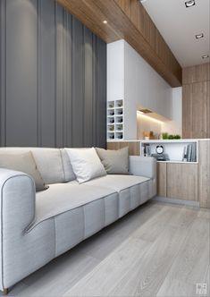 КВАРТИРА НА УНИВЕСИТЕСКОЙ Lofts, Flat Ideas, New Homes, Couch, Interior, Kitchen, Furniture, Design, Home Decor