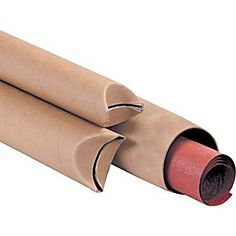 33c8c5a9d75 Kraft Crimped End Mailing Tubes