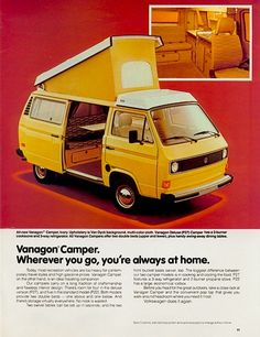 Westy ad - Still like this one -- but they do ride rough!