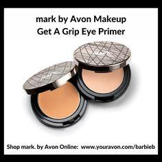mark by Avon Get A Grip Eye Primer - New makeup relaunch  Shop mark by Avon http://barbieb.avonrepresentative.com