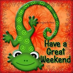 Have a great #weekend