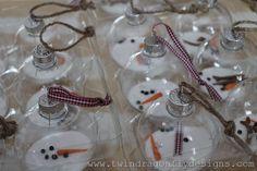 Melting Snowman Ornament (8)