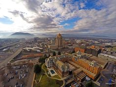 This one shot helped cement our passion for aerial photography - Roanoke VA #starcity by creativedogmedia
