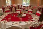 Reception in Red at Justin's Grill