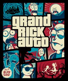 rick and morty wallpaper Rick And Morty - Gta Digital Art by Rick And Morty Rick And Morty Image, Rick Und Morty, Punisher Comics, Punisher Logo, Punisher Skull, Cartoon Wallpaper, Iphone Wallpaper, Rick And Morty Drawing, Graffiti