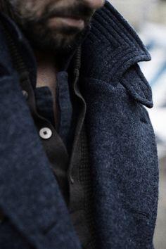 Crawford Denim and Vintage Co. - ruggedmenswear:   Perfect layering