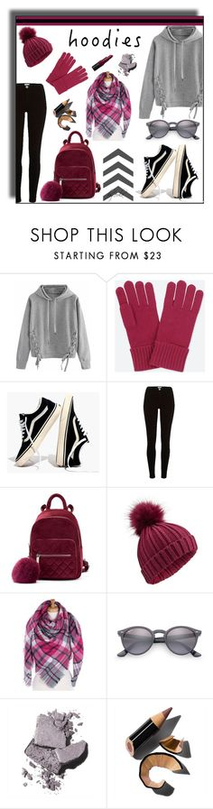 """In My Hood: Cozy Hoodies"" by eula-eldridge-tolliver ❤ liked on Polyvore featuring WithChic, Uniqlo, Madewell, River Island, Miss Selfridge, Ray-Ban and Bobbi Brown Cosmetics"