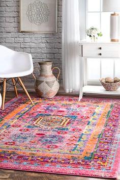 Rugs USA Multi Cabbarae Festive Sun rug - Bohemian Rectangle x Buy Rugs, Rugs Usa, Round Rugs, Contemporary Rugs, Minimalist Decor, Floor Rugs, Boho Decor, Colorful Rugs, Rugs On Carpet