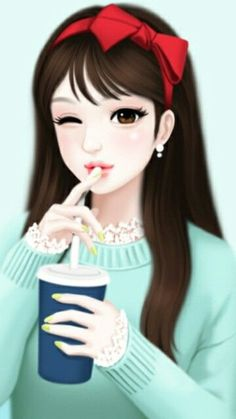 Find images and videos about lovely girl and Enakei on We Heart It - the app to get lost in what you love. Cartoon Girl Images, Cute Cartoon Girl, Cute Girl Drawing, Cute Drawings, Cute Cartoon Wallpapers, Animes Wallpapers, Kawaii Girl, Kawaii Anime, Anime Korea