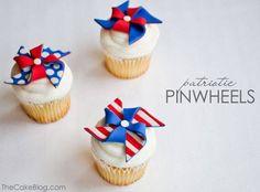Patriotic Pinwheels from The TomKat Studio | Fantastic 4th of July Recipes