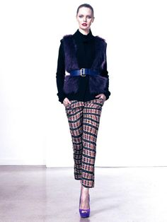 Aster Roll Neck Knit and Pax Pant www.polclothing.com.au