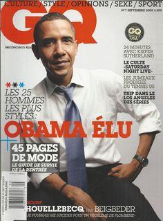 GQ magazine Barack Obama Saturday Night Live Los Angeles Kiefer Sutherland