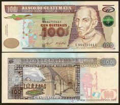 Guatemala, Nuevo billete de 100 quetzales 2008