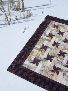 Twinkle quilt which was a pattern from Kim Brackett's book Scrap-Basket Sensations