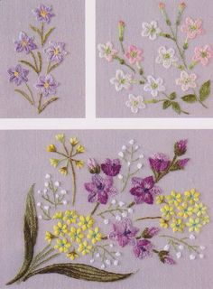 flower in my garden hand embroidery stitch sewing applique patchwork quilt PDF E Patterns. $5,00, via Etsy.
