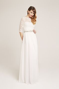 Sigrun Bride dress from our 2017 Bridal Collection. 2017 Bridal, Bridal Collection, Formal Dresses, Wedding Dresses, Bride, Inspiration, Tops, Design, Fashion