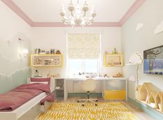 7 Beautiful Examples To Help You Design A Room For A Young Girl www.fiori.com.au