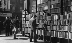 Secondhand bookshop on Charing Cross Road, London, in 1951. Photo: John Chillingworth/Hulton-Deutsch Collection