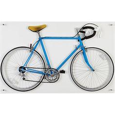 bicycle blue acrylic print 48W x 30H