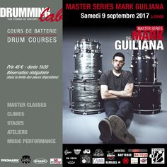 "The great #drummer #Mark #Guiliana and his method ""Exploring your Creativity on The Drumset"" in Paris. Saturday, September 9th, 2017 at #DrummingLab - rue de L'Éperon - #Frederick #Rimbert #batteur #drumschool #drumlessons #drumming #drumlife"